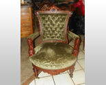 Buy Walnut Carved John Jelliff Armchair Parlor Chair