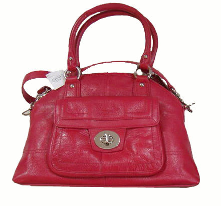 Coach - Hampton Leather Tlk Dom Satchel (ref. #F15693)