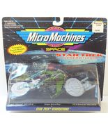 Star Trek Generations Micro Machines Enterprise Klingon Bird of Prey 1994