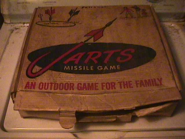 Vintage 1960's Lawn Jarts Set Used Condition