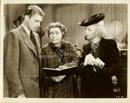 Ronald Reagan Marjorie Rambeau Jane Wyman Vinta... - $14.99