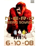 Nerd SEEING SOUNDS Music Poster Large 2' x 3' R... - $50.00