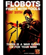 Flobots * FIGHT WITH TOOLS * Music Poster 2' x ... - $40.00