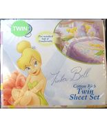 Disney Fairies Tinkerbell Sugar Tink Twin Sheet set