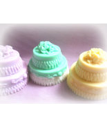 wedding cake soaps. pack of 3 - $12.00