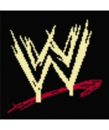 Latch Hook Rug Pattern Chart: WWE Logo - EMAIL2u - $5.75