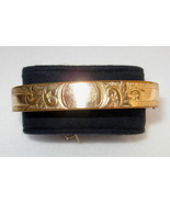Bates & B Antique Gold Filled Bangle Bracelet, 1905  - $80.00