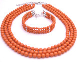 Buy Traditional Anniversary Gifts Coral Angel Skin Pearls Jewelr