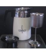 Rare Vintage Corning Ware Black Trefoil 6 Cup S... - $125.00
