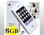 Buy Speakers - 8GB Touch Screen White iPhone 4 Style Multimedia Player