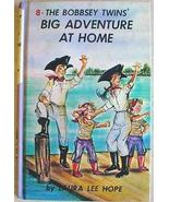 BOBBSEY TWINS #8 BIG ADVENTURE AT HOME Laura Le... - $1.99