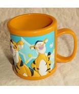 Disneyland Tigger Orange Plastic Mug Disney Win... - $10.00