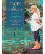 Quilt Design Faces and Places Images in Appliqu... - $14.93
