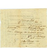1814 OHIO State Document Signed by RALPH OSBORN... - $20.00