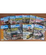 Model Railroader 10 Magazines O N HO Scale Trai... - $15.93