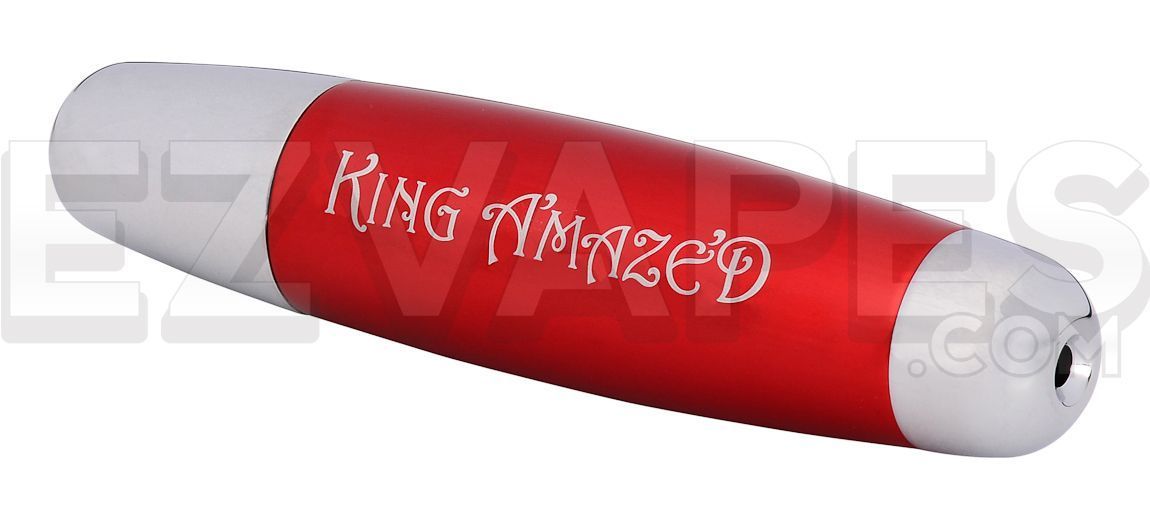 King Amazed Pipe Red