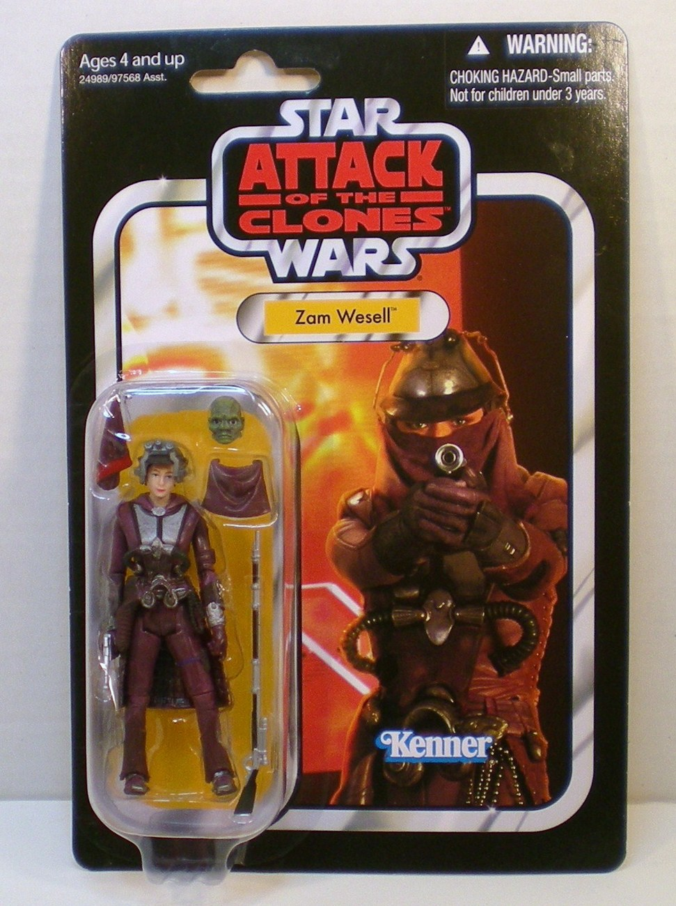 Stars Wars Zam Wesell Vintage Collection 2011 VC30 Attack of the Clones