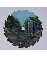 Collectible Mini Spring Round Painted Sawblade ... - $18.75