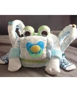 BLUE GREEN FROGGY Diaper Cake TOPPER Baby Showe... - $28.00