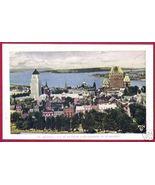 QUEBEC Vue de La Haute Ville Le St-Laurent Town... - $6.00