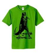 XL Green Dinosaur head Short Sleeved funny boys... - $14.99