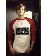 Father & Son combo red ringer t shirt a boombox... - $29.99
