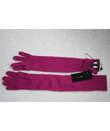 NWT BCBGMaxAzria merino wool elbow purple gloves  - $39.99