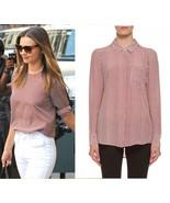 NEW Equipment Quinn silk blouse GRENADINE GEOME... - $100.00