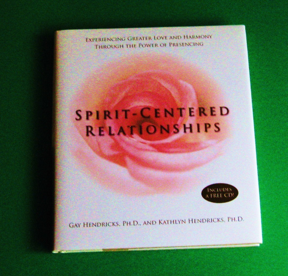 Spirit Centered Relationships love harmony comes with cd bran new self help book