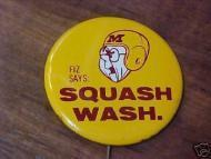 1961 MN Gophers vs Wahington Huskies Rosebowl? Pinback