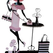 Lady_with_hat_and_poodle_shopping_thumb175