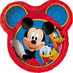 Assiettes Mickey Mouse 9'' 8 par paquet