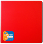 Cartable rouge 1.5""