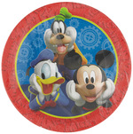 Assiettes Mickey Mouse 7'' 8pqt