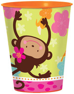 Verre en plastique Monkey love 16 oz