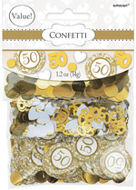 Confettis de table noce d'or 1.2 oz