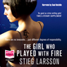 The girl who played with fire unabridged audiobook