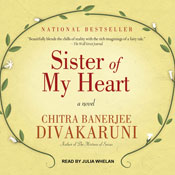 Sister of my heart a novel unabridged audiobook