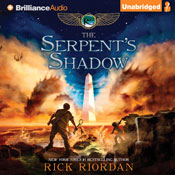 The serpents shadow the kane chronicles book 3 unabridged audiobook