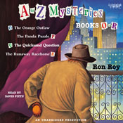 A to z mysteries books o r unabridged audiobook