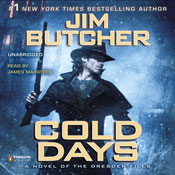 Cold days the dresden files book 14 unabridged audiobook