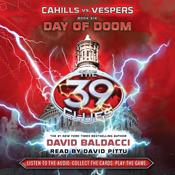 Cahills vs vespers book 6 day of doom the 39 clues unabridged audiobook