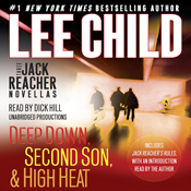 Three jack reacher novellas with bonus jack reachers rules deep down second son high heat and jack reachers rules unabridged audiobook