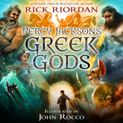 Percy jacksons greek gods unabridged audiobook