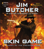 Skin game a novel of the dresden files book 15 unabridged audiobook