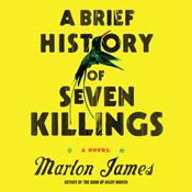 A brief history of seven killings unabridged audiobook