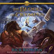 The blood of olympus the heroes of olympus book 5 unabridged audiobook