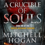 A crucible of souls the sorcery ascendant sequence book 1 unabridged audiobook