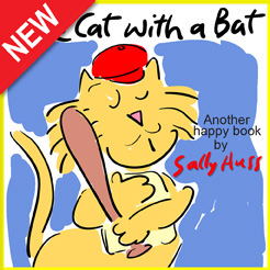Children's EBook: THE CAT WITH A BAT by Sally Huss