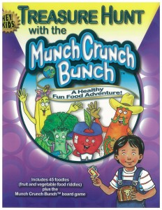 Treasure Hunt with the Munch Crunch Bunch by Jan Wolterman